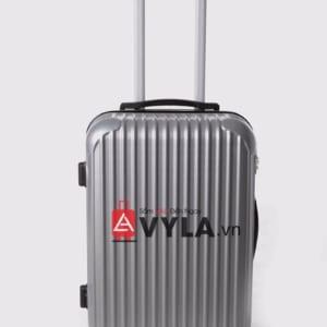 Vali kéo nhựa trơn màu xám size 20 mẫu 7 giá rẻ tại tphcm