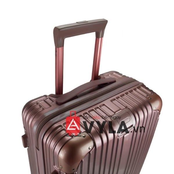 vali kéo nhựa trơn màu hồng size 20 mẫu 1 giá rẻ tại hcm
