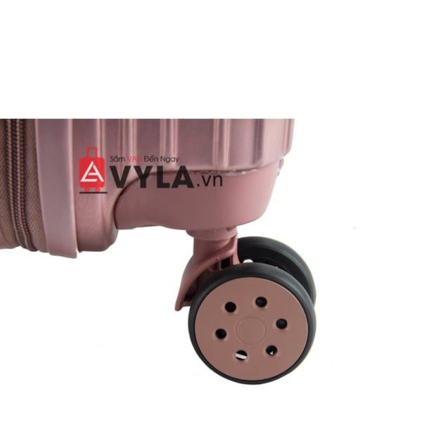 vali kéo nhựa trơn màu hồng size 20 mẫu 1 giá tốt