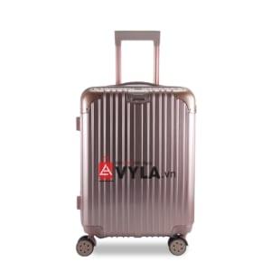vali kéo nhựa trơn màu hồng size 20 mẫu 1 giá rẻ tại tphcm