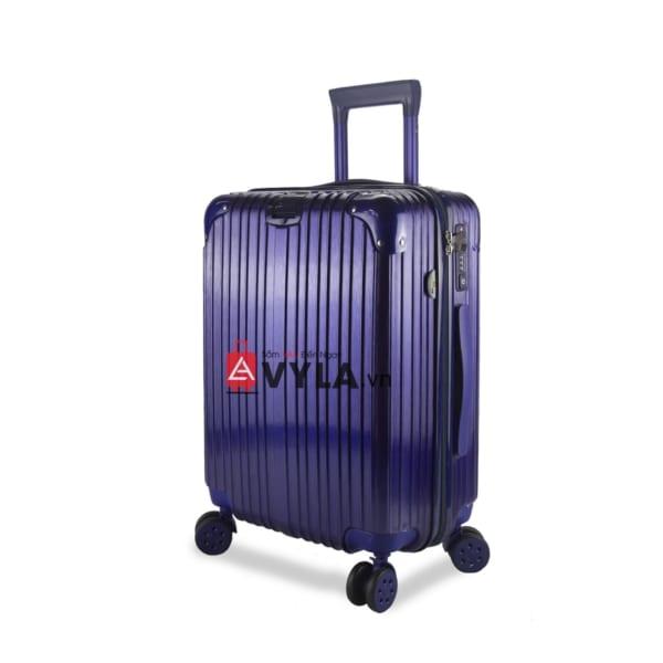 Vali kéo nhựa trơn màu xanh size 20 mẫu 1 giá tốt