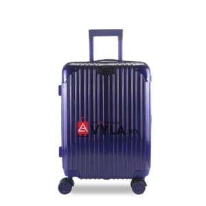 Vali kéo nhựa trơn màu xanh size 20 mẫu 1 giá rẻ