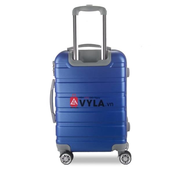 Vali kéo nhựa trơn màu xanh size 20 mẫu 3 bền