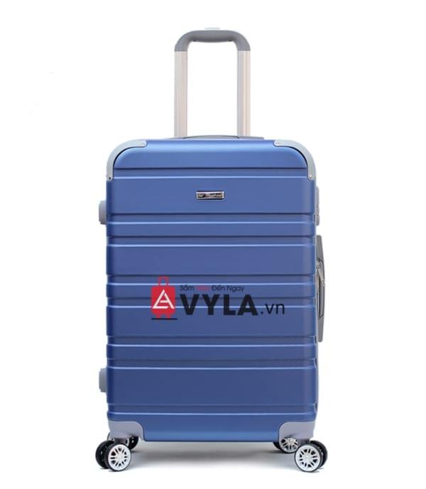 Vali kéo nhựa trơn màu xanh size 20 mẫu 4 bền đẹp nhất tphcm