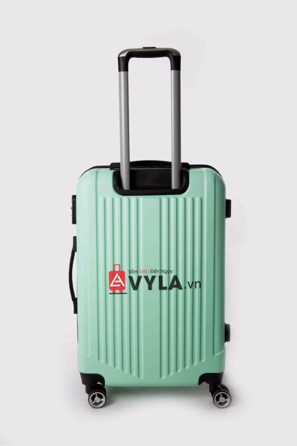 Vali kéo nhựa trơn màu xanh lá size 20 mẫu 5 đẹp nhất