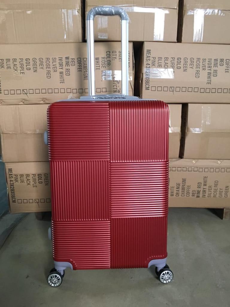 Vali kéo màu đỏ mẫu 2