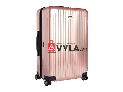 Cửa hàng bán vali kéo nhựa trơn rimowa hồng