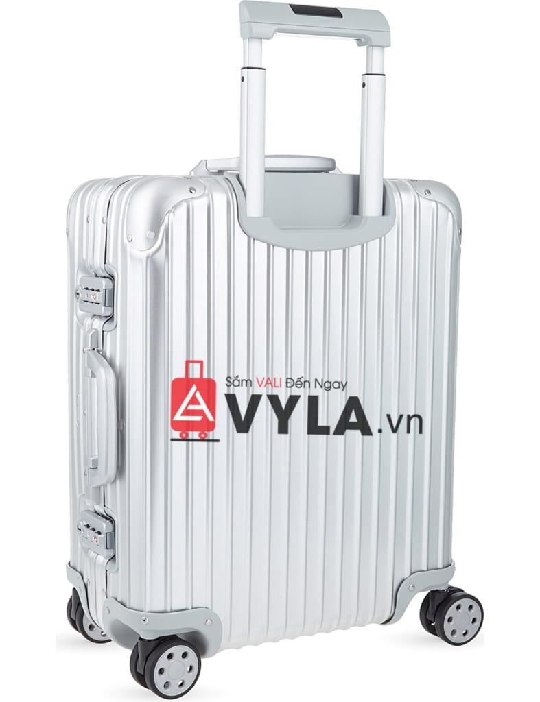 Shop vali kéo nhựa trơn rimowa màu xám