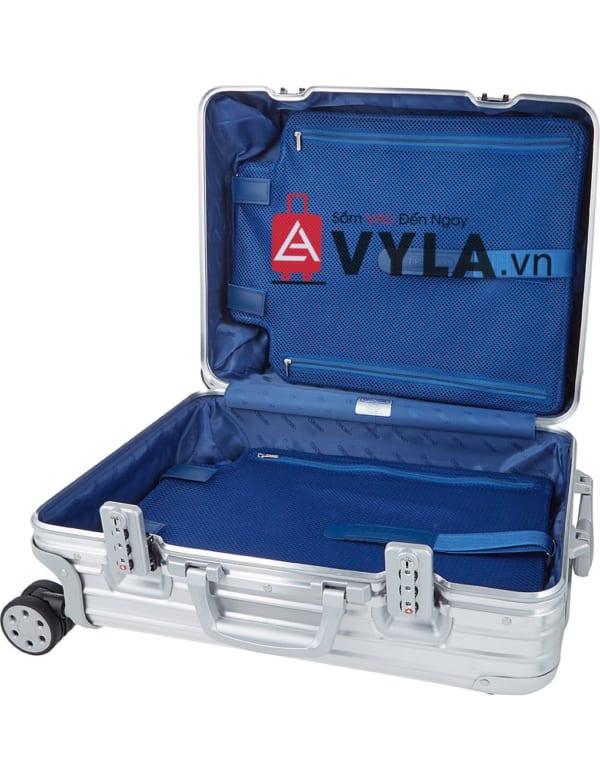 Shop vali kéo nhựa trơn rimowa màu xám đẹp