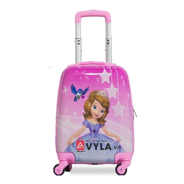 Vali kéo nhựa trẻ em mẫu 8 giá rẻ