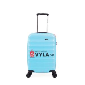 Vali kéo nhựa trơn xanh cam đẹp giá rẻ tphcm