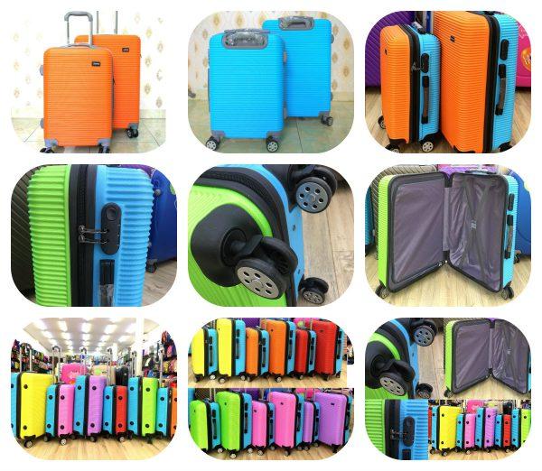 Cửa hàng bán vali xanh cam