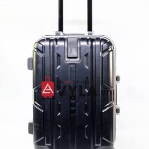 Vali khung nhôm khóa sập màu đen mẫu 1
