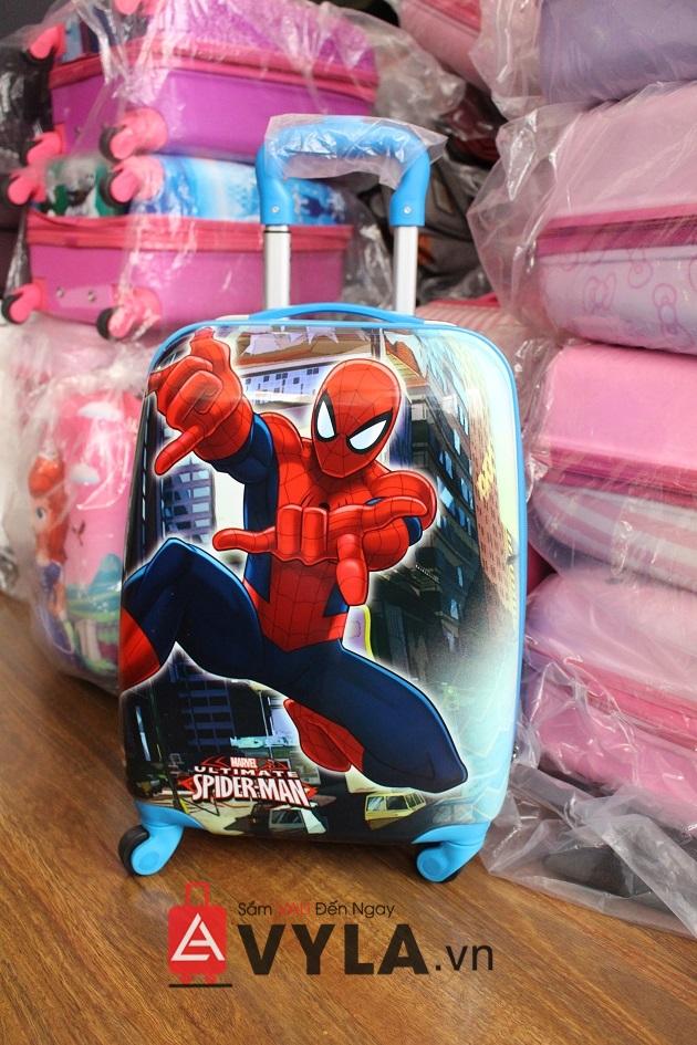 Vali trẻ em giá rẻ người nhện đẹp