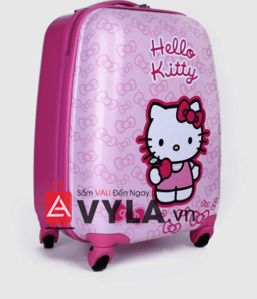 Vali kéo hello kitty