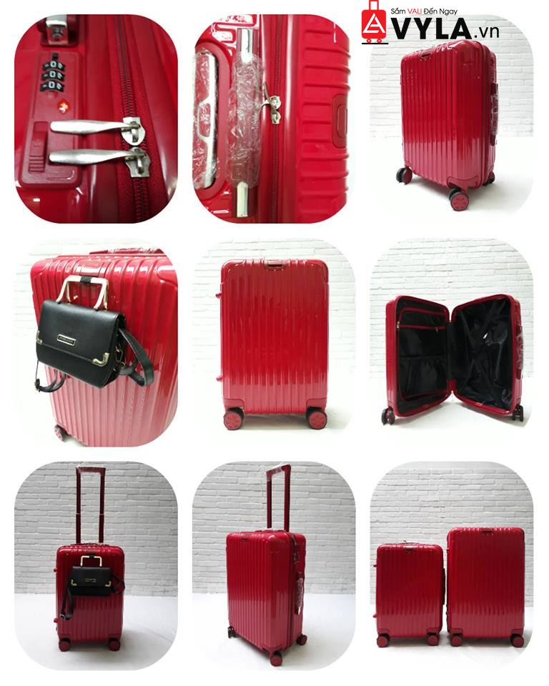 Vệ sinh vali kéo