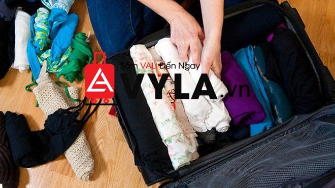 cách xếp đồ vào vali không nhăn