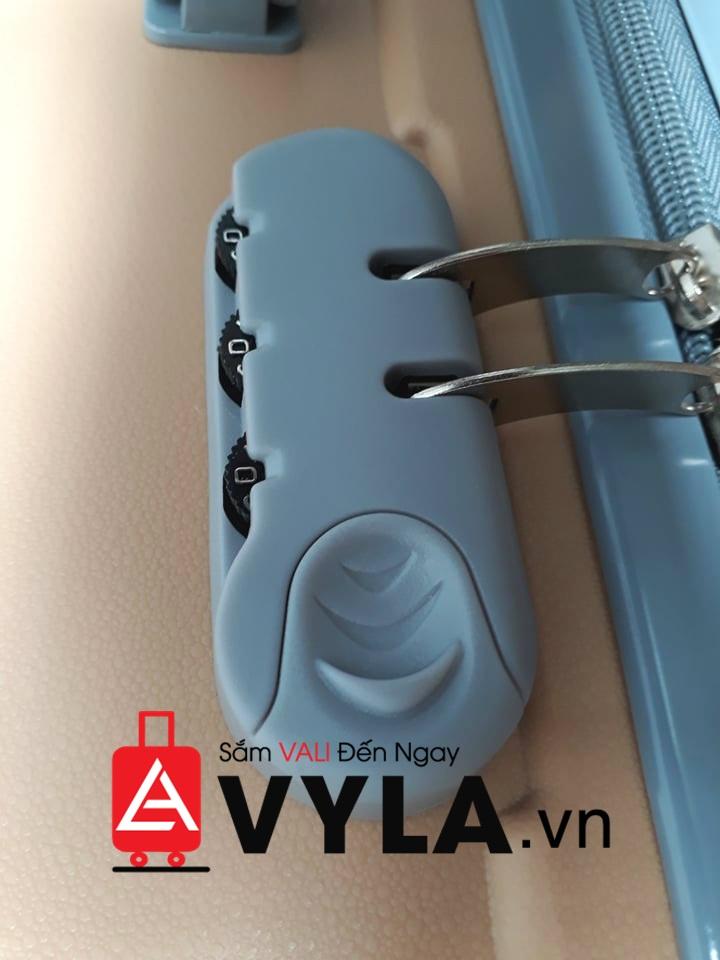 cách đổi mật khẩu của vali 3 số